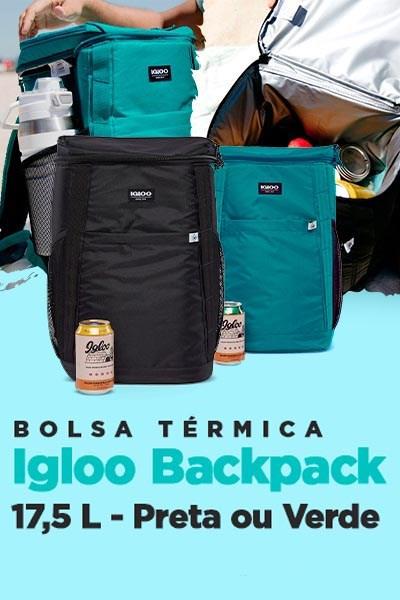 Bolsa Térmica Igloo Backpack 17,5 Litros