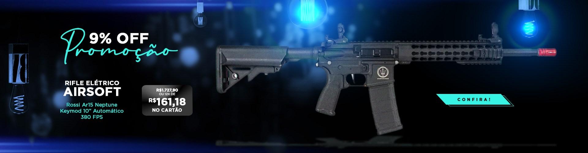 Rifle Airsoft Neptune Keymood 10 Rossi