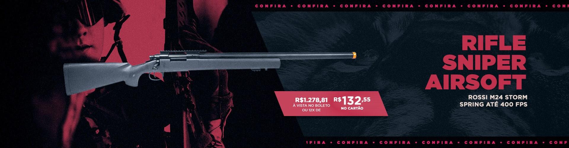 Rifle Sniper Airsoft Rossi M24 Storm