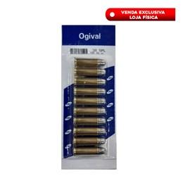 10000596 Munição CBC Calibre .38 SPL Chog 158gr Ogival