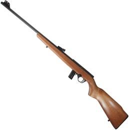 """10023237 Rifle CBC 8122 Bolt Action Calibre .22 Cano 23"""" Coronha em Madeira"""