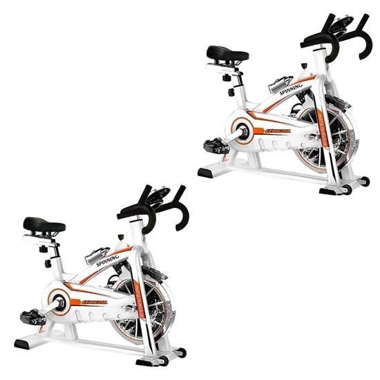 2 Bikes Spinning ONeal TP1100 Semi Profissional 15 Níveis de Tensão