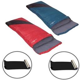 2 Sacos de Dormir Nautika Liberty + Isolantes Térmico EVA Aluminizado