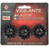 3 Magazines para Revólver Vigilante Crosman Chumbinho 4.5mm