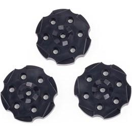 3 Magazines para Revólver Vigilante Crosman Esferas de Aço 4.5mm