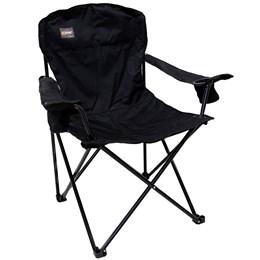 4 Cadeiras Dobráveis com 2 Posta Copos Pandera Nautika Preto