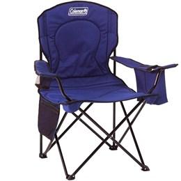 4 Cadeiras Dobráveis com Cooler Térmico e Porta Copo Coleman Azul