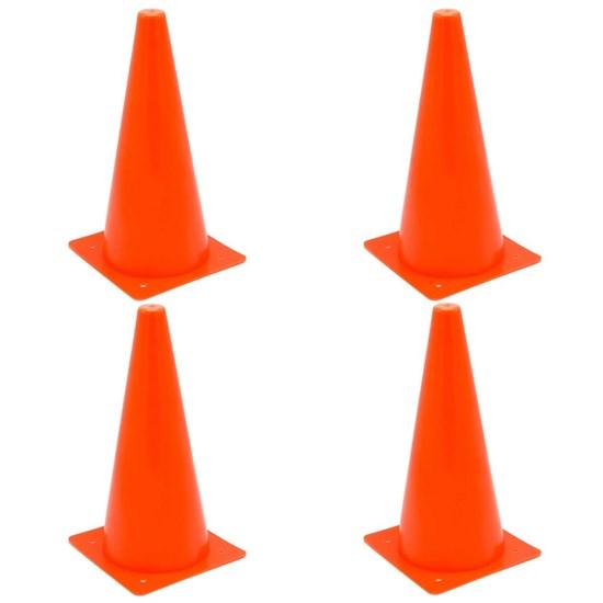 4 Cones de Agilidade 32 cm ZStorm ZS170943 Vermelho