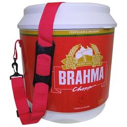 4 Coolers Térmico Brahma Brasil 20 Litros 12 Latas com Alça de Transporte