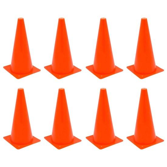 8 Cones de Agilidade 32 cm ZStorm ZS170943 Vermelho