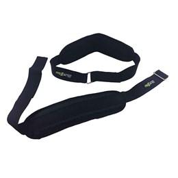 Ab Strap para Treinamento Suspenso 18cm ProAction + Bola Dupla para Massagem e Miofascial