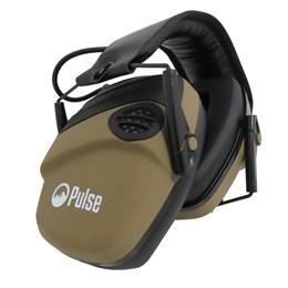 Abafador de Som Eletrônico para Airsoft Pulse com Entrada P2 TAN
