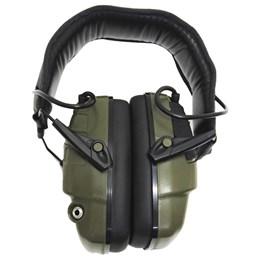 Abafador de Som Eletrônico para Airsoft Pulse Verde com Entrada P2