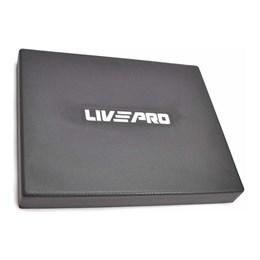 Almofada de Equilíbrio Balance Pad Liveup LP8360 para Treino Funcional Preto