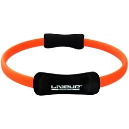 Anel de Pilates Toning Ring - LIVEUP LS3167C-Laranja