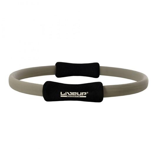 Anel de Pilates Toning Ring LIVEUP LS3167CZ Cinza