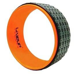 Anel de Yoga LIVEUP LS3750 Pilates Exercícios Magic Circle Laranja