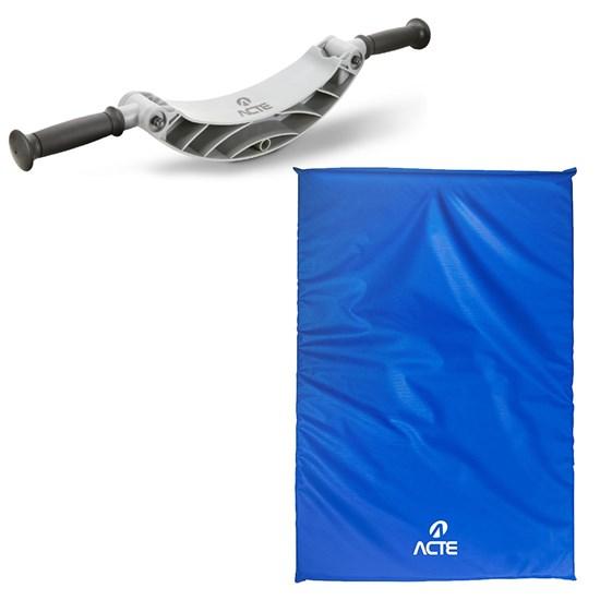 Apoio de Flexão Plataforma 2 Posições + Colchonete 100cm Acte