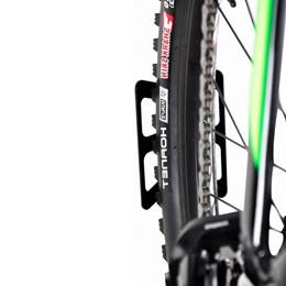 Apoio de Parede para Pneu Traseiro de Bicicletas - Altmayer AL-197
