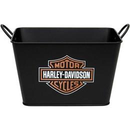 Balde de Gelo Retangular Harley Davidson Alumiart Falcão 5 Litros