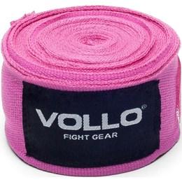 Bandagem Elástica para Proteção VFG 3 Metros Rosa Vollo VFG115
