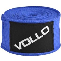 Bandagem Elástica Vollo VFG137 3M para Artes Marciais Azul
