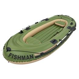 Barco Inflável Fishman 400 com Remos para 4 Pessoas - MOR 001855