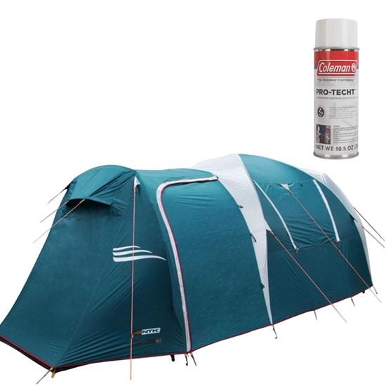 Barraca Arizona GT 11/12 Pessoas Camping Nautika + Impermeabilizante para Barracas Coleman