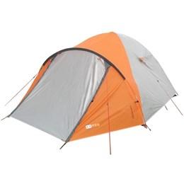 Barraca Camping Azteq Katmandu 3/4 Pessoas + Colchão Casal Inflável Fit Ecologic