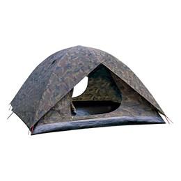 Barraca Camping Camuflada Amazon 4P Nautika + Colchonete Resistente Camp Mat