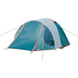 Barraca Camping Iglu Nautika Indy 3 Pessoas + Colchão Inflável Casal com Infládor de Pé Zenite