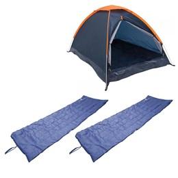 Barraca Camping Iglu Nautika Panda 3 Pessoas + 2 Colchonetes Leve e Resistente Camp Mat