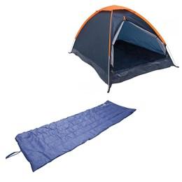 Barraca Camping Iglu Nautika Panda 3 Pessoas + Colchonete Leve e Resistente Camp Mat