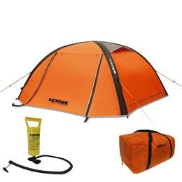 Barraca Camping Inflável Moose 2022L 2 Pessoas com Inflador e Bolsa de Transporte