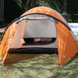 Barraca Camping Katmandu 2/3 Pessoas Azteq Espaço Confortável e Tela Mosquiteiro