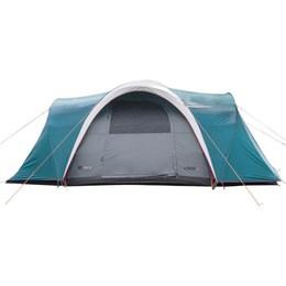 Barraca Camping Nautika Laredo até 9 Pessoas + 2 Colchões Solteiro Inflável Star Aveludado