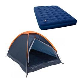 Barraca Camping Nautika Panda 6 Pessoas + Colchão King Size Inflável Zenite