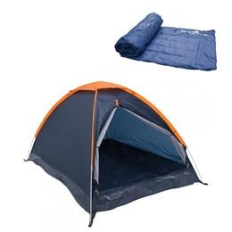 Barraca Camping Nautika Panda 6 Pessoas + Colchonete Camp Mat Leve e Resistente