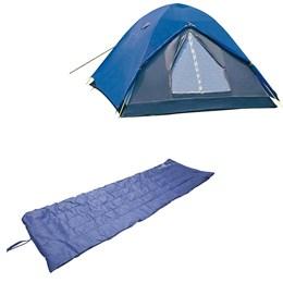Barraca Camping Tipo Iglu Fox até 6 Pessoas Nautika + Colchonete Leve e Resistente Camp Mat