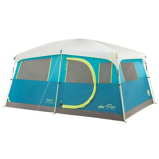 Barraca de Camping Coleman Tenaya Lake 8 Pessoas com Closet Azul
