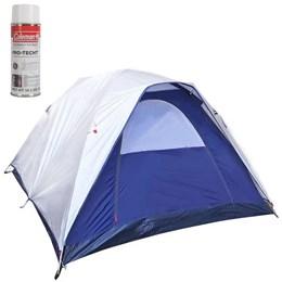 Barraca de Camping Dome 6 Pessoas Nautika + Impermeabilizante para Barracas Coleman