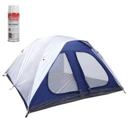 Barraca de Camping Dome 8 Pessoas Nautika + Impermeabilizante para Barracas Coleman