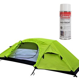 Barraca de Camping e Trekking Windy 1 Pessoa Nautika + Impermeabilizante para Barracas Coleman
