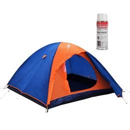 Barraca de Camping Falcon 3 Pessoas Nautika + Impermeabilizante de Tecido para Barraca Coleman