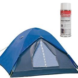 Barraca de Camping Fox 3 Pessoas Nautika + Impermeabilizante para Barracas Coleman