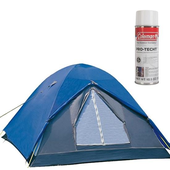 Barraca de Camping Fox 5 Pessoas Nautika + Impermeabilizante para Barracas Coleman