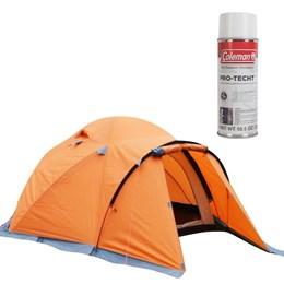 Barraca de Camping Himalaya 2/3 Pessoas Azteq - Impermeabilizante para Barracas Coleman