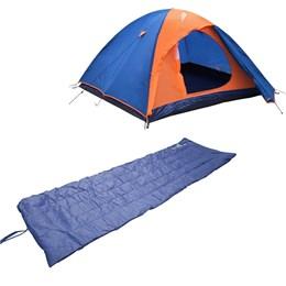 Barraca de Camping Iglu Falcon para até 3 Pessoas + Colchonete Camp Mat Nautika