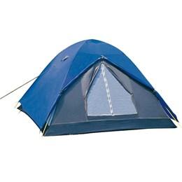 Barraca de Camping Iglu Fox 3P 155300 + Colchão Inflável Zenite Com Inflador de Pé Casal Nautika