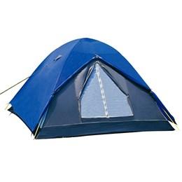 Barraca de Camping Iglu Fox até 4 Pessoas Nautika + 2 Colchões Inflável Solteiro Fit Ecologic com Inflador